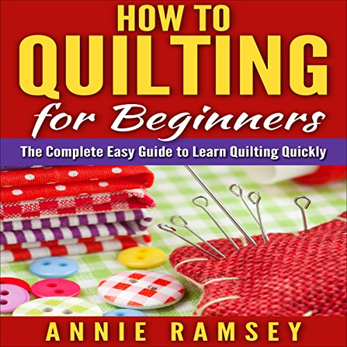 How to Quilting for Beginners audiobook cover art