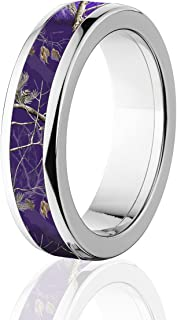 purple camo rings