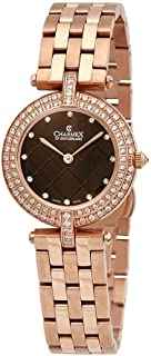 Charmex Las Vegas Crystal Brown Dial Ladies Watch 6397