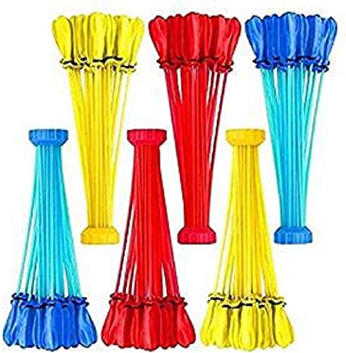200 Party Pack Bunch O Balloons - 6 Bunches Totals 200 Easy Fill Water Balloons (Farbes May Vary) - Fun Toy Gift Party Favors