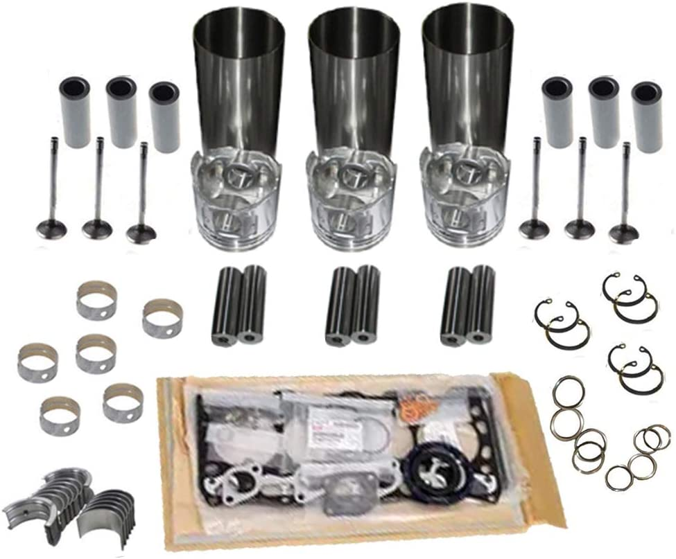 New 3LB1 Overhaul Popular shop is the lowest price challenge Rebuild Kit half for 0 Engine Solar ISUZU 03 Daewoo