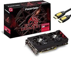 PowerColor Red Dragon Radeon RX 570 OC Graphics Card, 4GB...