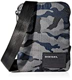 Diesel ShoesDiscover-me F-discover CrossHombreCarterasMulticolor (Black/White/Blue) 2x19.5x15 centimeters (W x H x L)
