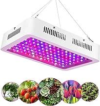 EECOO 1200W LED Cultivo Interior, Plantas Led Grow Light 120LED, Lámpara de Plantas Espectro Completo Ligero Lampara con IR Rojo Azul, Lampara de Cultivo para Jardín de Interior Greenhouse Hydroponics