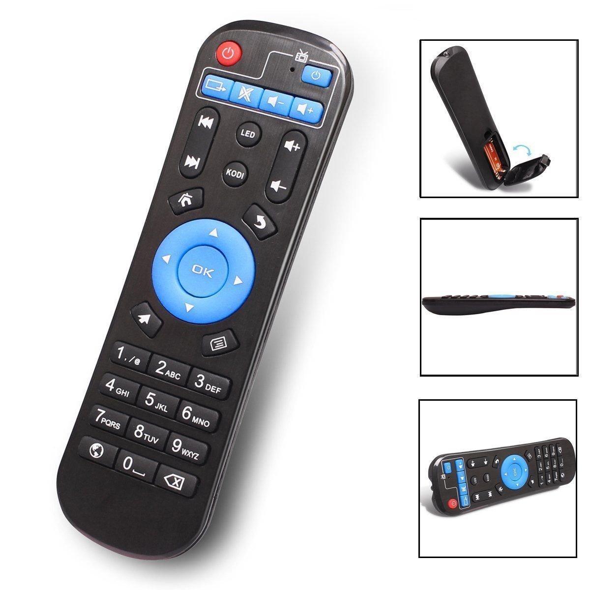 NiceTQ - Mando a Distancia de Repuesto para A95X Amlogic S905X Android Smart TV Box: Amazon.es: Electrónica