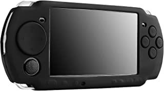 Insten Silicone Skin Case Compatible With Sony PSP 3000, Black