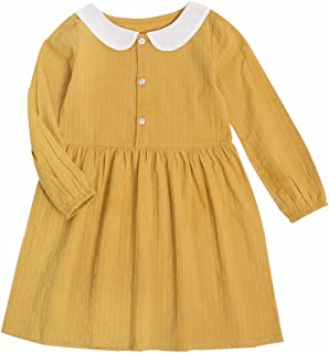 Vimuntado Princess Girl Dress Fashion Party Wedding Clothing Toddler Cotton Doll Clothes