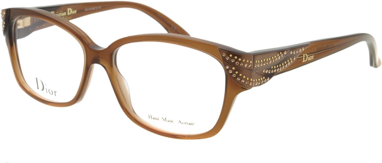 DIOR Eyeglasses Dior 3229 0XLI Brown Mother 53MM
