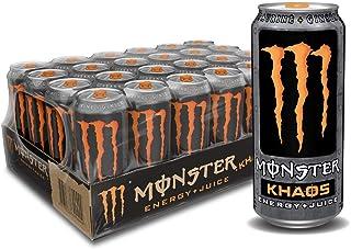 Monster Khaos Energy Case, 473ml (Pack of 24)