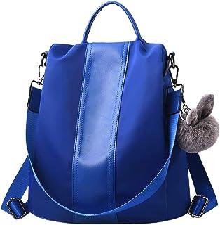 Wultia - Fashion Women Backpack High Quality PU Leather Backpacks for Teenage Girls Female School Shoulder Bag Bagpack Mochila #G8 Blue