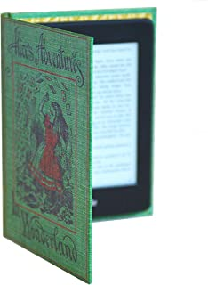 Kindle Case with Classic Book Cover (Compatible with New Paperwhite 2018 10th Gen) (Alice in Wonderland)