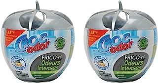 CROC'ODOR Désodorisant pour Frigo Power 140 g Taille XL - Lot de 2