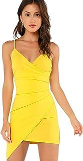 5c768a681af3 Amazon.es: Amarillo - Vestidos / Mujer: Ropa