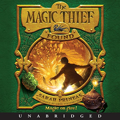 The Magic Thief: Found audiobook cover art