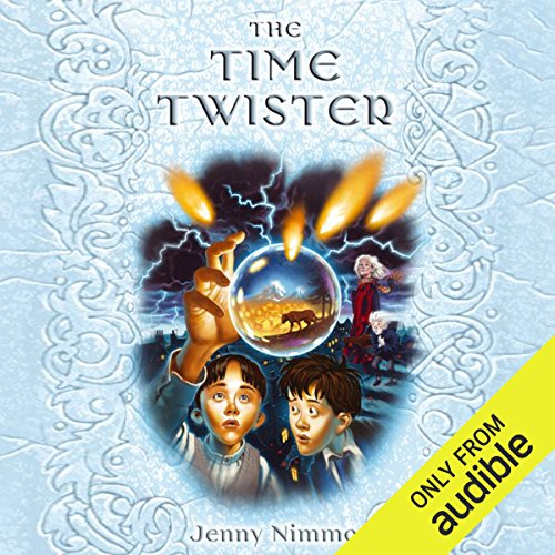 The Time Twister audiobook cover art