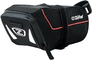 Zefal Bolsa para Asiento Z Light Poliéster 420D Soporte Velcro, Color Negro, Grande, 1.4 l