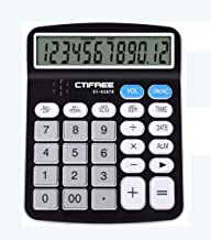 $42 » Yusuo Calculator Desktop Calculator, Voice Calculator Dual Power Office Desktop Calculator with 12-Digit LCD Display and Large Buttons