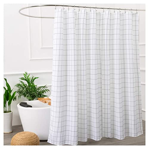 Fabric Shower Stall Curtains.Black And White Shower Stall Curtains Amazon Com