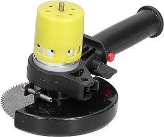 Handhållen skärsåg, elektrisk cirkelsåg mini gerings träbearbetningsverktyg elektrisk aluminiumlegering för trämetall AC 1...
