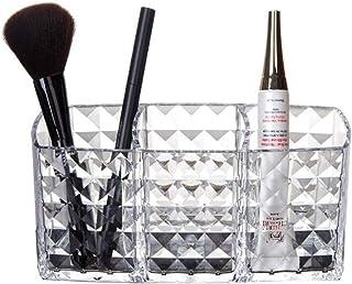 Guuisad Acrilico Cosmetic Storage Box Makeup Brush Holder Rossetto Sopracciglio Matita Organizzatore Accessori per il bagn...