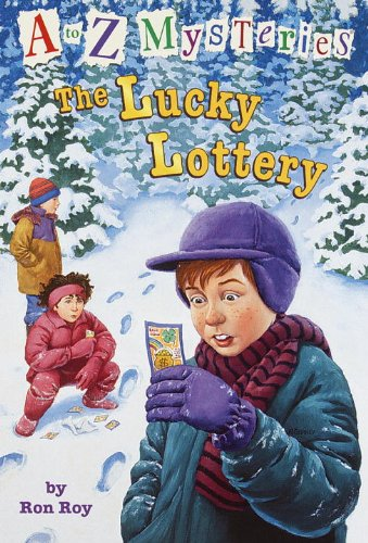 『A to Z Mysteries: The Lucky Lottery』のカバーアート