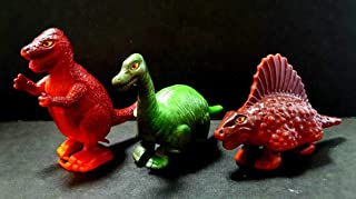 1979年トミー「恐竜 ゼンマイノコノコ」人形 玩具 3種セット ボーンフリー アイゼンボーグ コセイドン タンサー5