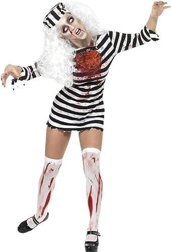 DéguiseHommest zombie prisonnière femme HalFaibleeen - taille - Medium - 200366