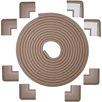 Brown KidKusion 24-Feet Edge Cushion