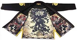 SHOGUN Fight Brazilian Jiu Jitsu Gi Samurai Premium 450g Pearl Weave Cotton BJJ