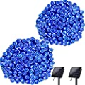Lyhope Outdoor Solar String Lights, 72ft 200 LED 8 Modes Solar Christmas Lights