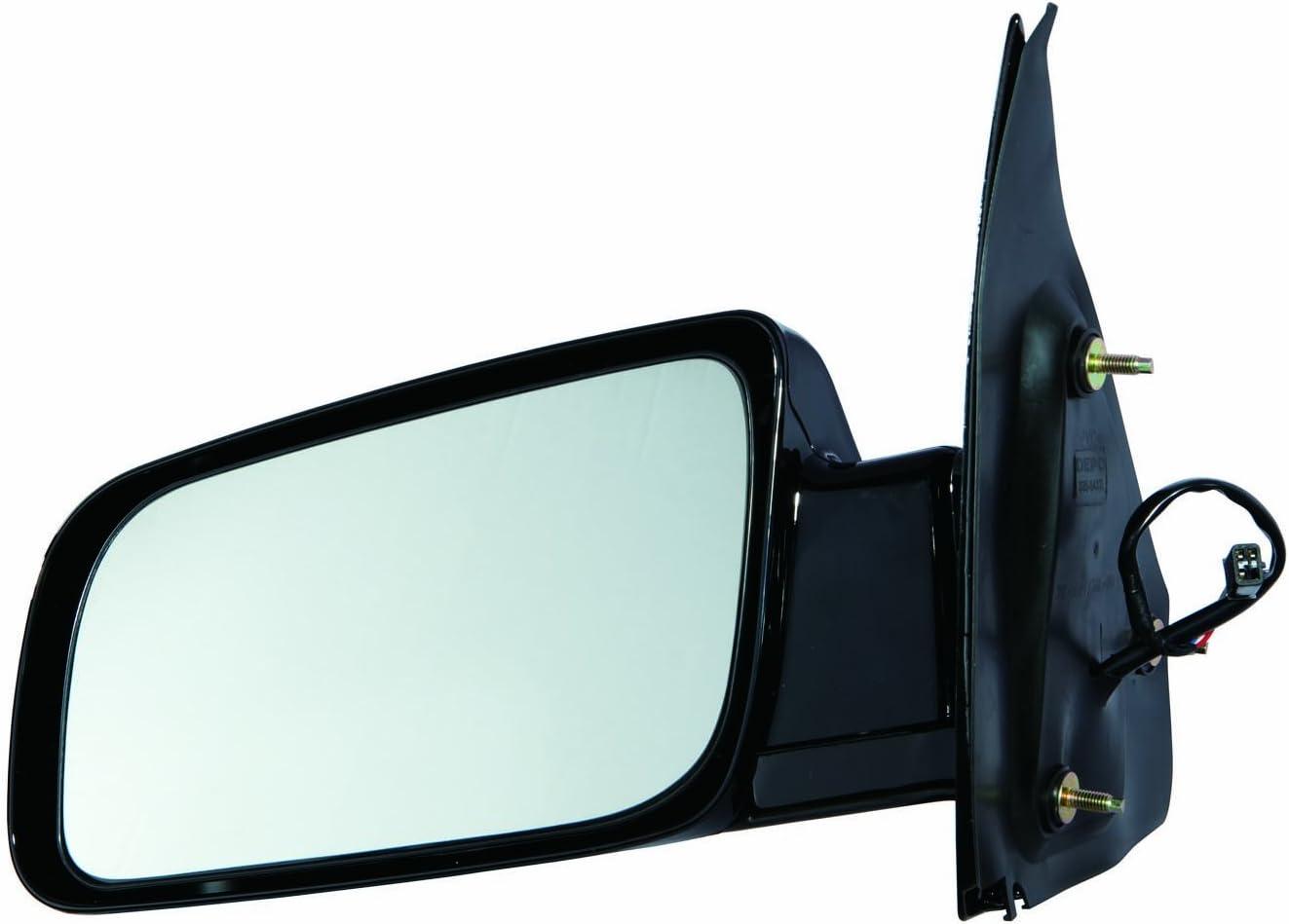 Mirror For 1988-2005 Chevrolet Astro GMC Safari Left Paintable Manual Folding