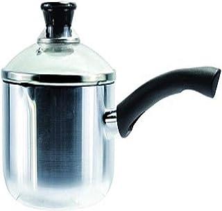 DURA-KLEEN Sauce Pan With Lid, Aluminum, 3 Quart, Stainless Steel