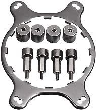 CPU Cooler Fan Bracket Heatsink Holder AM4 Mounting Bracket Kit for Corsair Hydro Series H45 H55 H60 H75 (Black)