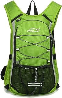 Minetom Ultra Ligero 12L Mochilas Impermeable Viaje Morral Deporte Sport Multifunción Bolsa Plegable Trekking Viajes Verde Version A(24 * 15 * 44 Cm)