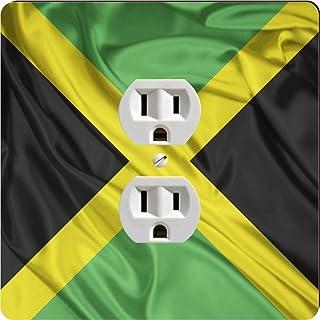 Rikki Caballero 1708diseño de bandera de Jamaica de salida Placa de Salida