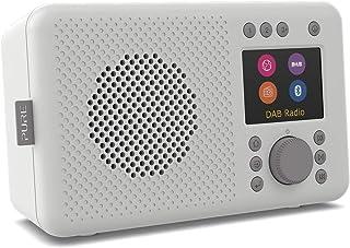 Pure Elan Connect Portable DAB Radio with Internet Radio & Bluetooth - Stone Grey