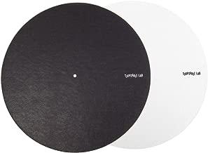 Turntable Lab: Switchmat Reversible Slipmat - Black / White (Single)