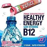 Zipfizz Healthy Energy Drink Mix, Pink Grapefruit, 30 Count