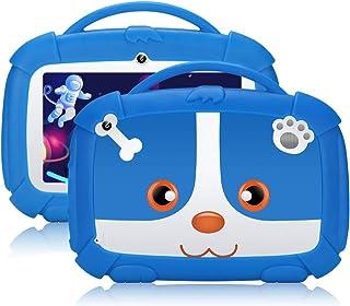 Tablet per bambini,7 pollici,Android 9.0 Qiamoo16 GB Kids Quad Core CPU 1,5 GHz Tablet per bambini con modalità di sicurez...