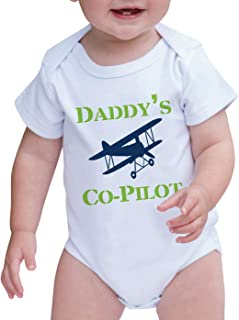 7 ate 9 Apparel Baby Boy's Daddy's Co-Pilot Onepiece