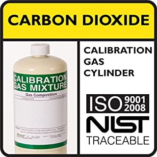 5% by Volume Carbon Dioxide Calibration Gas, Balance Nitrogen, 34 Liter Steel Cylinder.