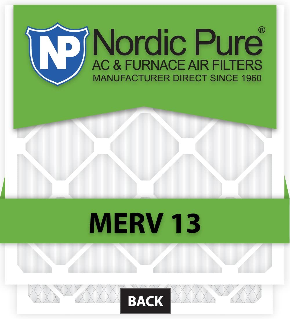10x14x1 Exact MERV 13 AC 6 Furnace Qty Filters Max At the price of surprise 88% OFF