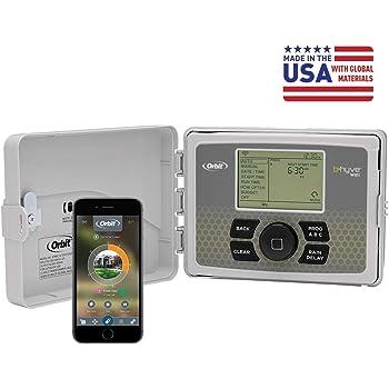 Orbit 57946 B-hyve Smart Indoor/Outdoor 6-Station WiFi Sprinkler System Controller