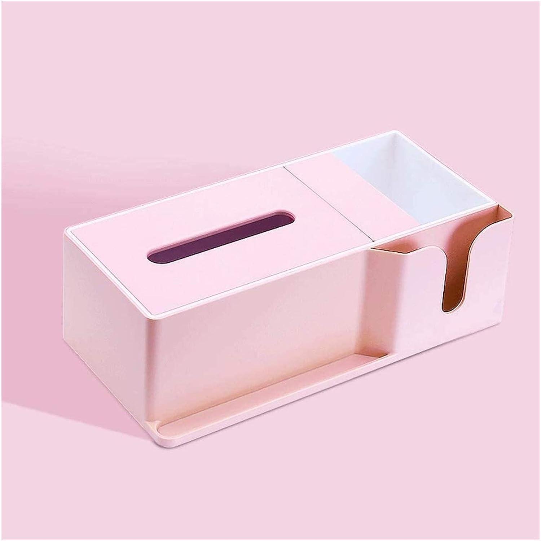 Price reduction HomeDecoration Tissue Box Cover Plastic B Columbus Mall Creative Modern