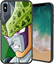 |for iPhoneXs Max| Ultra-Thin Anti-Scratch Tempered Glass Phone Case, Japanese Manga Game Animation Dragon Ball Series Design 178 iPhoneXs Max Cover for Teens and Adults