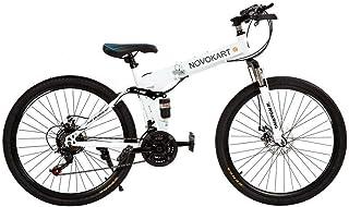 comprar comparacion DOMDIL- Bicicletas Montaña Plegables, Mountain Bike Unisex, 24 Pulgadas, MTB para Hombre/Mujer, Freno Doble Disco, Rueda d...