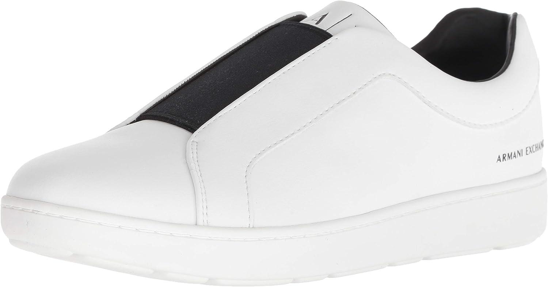 A X Armani Exchange Mens Slip-on Sneaker Sneaker