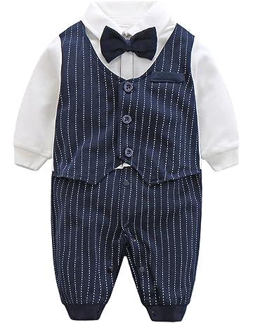 126c6faed5462 エルフ ベビー(Fairy Baby)ベビーフォーマル セレモニーロンパース 結婚式服 男の子80cm 紺色