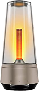 Lámpara de altavoz Bluetooth Atmósfera Altavoz Bluetooth Luz de Noche Portátil al aire libre Camping Linterna para Fiesta y Cena, Gran Regalo para Mujeres Hombres Adolescentes Niños