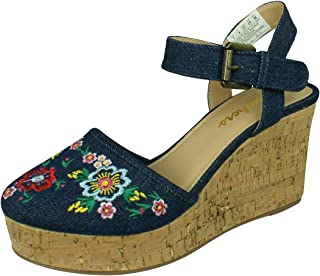 Skechers Turtledove Flower Angel Womens Heeled Sandals